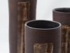 laurence girard_ceramiste_lyon_vase tube brun_manganese 004jpg
