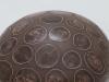 laurence girard ceramique_grosse boule pastilles sepia 001  JPG