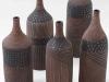 laurence_girard_ceramique_atelier_touché_terre_lyon_bouteille graphique noir argent 001