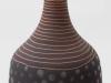 laurence_girard_atelier_touche_terre_lyon_bouteille graphique noir argent 006