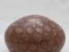 laurence girard ceramique_grosse boule pastilles cuivre 001