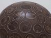 laurence girard ceramique_grosse boule pastilles sepia 003  JPG