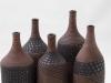 laurence_girard_atelier_touche_terre_lyon_bouteille graphique noir argent 002