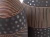 laurence_girard_atelier_touche_terre_lyon_bouteille graphique noir argent 005